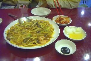 KOREA食事