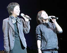 岩崎宏美さんと岩崎良美さん
