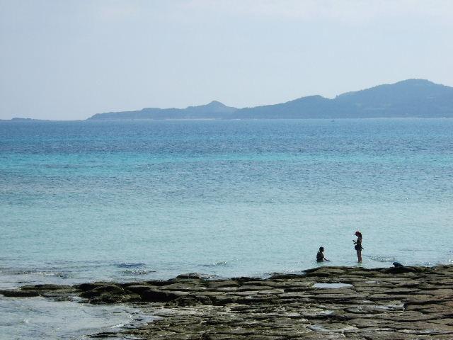 畳石ビーチ