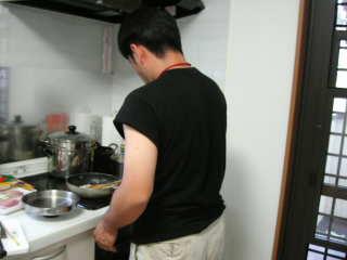 パパ、お料理中!