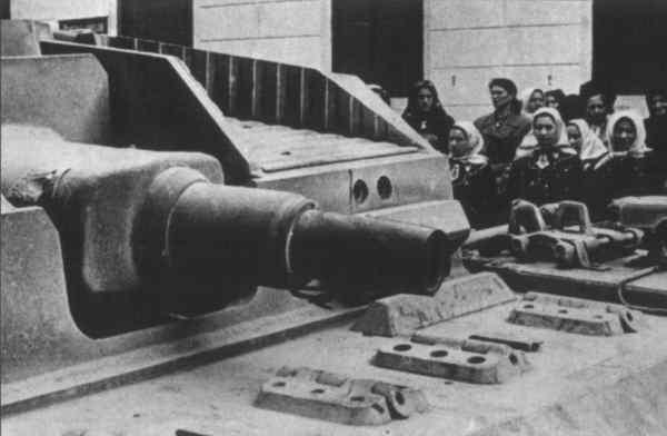 突撃砲の搭載砲の装甲貫徹力