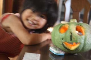 じいちゃんが作ってくれたかぼちゃ