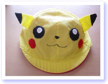 ピカチュウ帽子