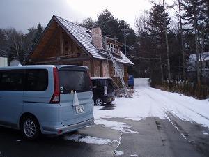 雪のEpiさん駐車場
