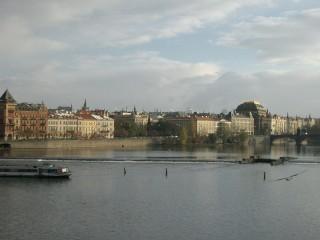 カレル橋からの眺め