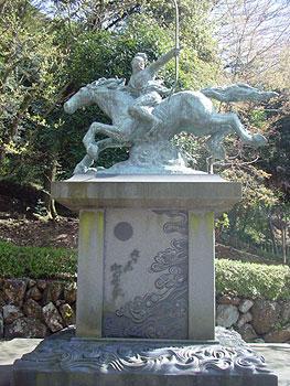 若き日の織田信長像