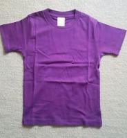 パープルTシャツ