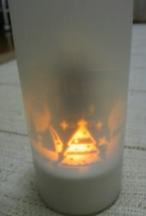 セリアX'masLED ライト