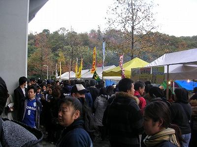 博多の森球技場 名物屋台村