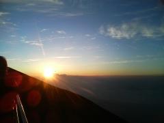 富士山8合目からの御来光