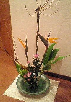 10月の生け花