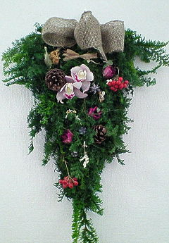 2008年クリスマス壁飾り