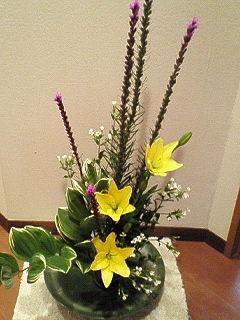 2008年6月の生け花