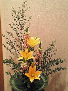 12月の生花