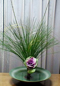 2009年お正月生花2