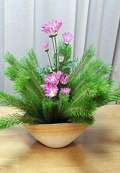 2009年お正月生花3