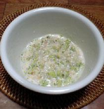 鮭とブロッコリーのホワイトソース