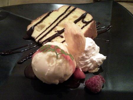 バニラのシフォンケーキ