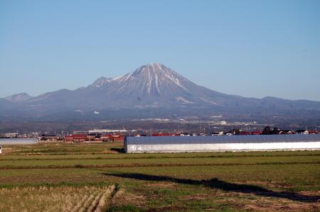 米子市福市から見た大山