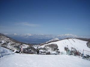 よなよなの里スキーその3志賀高原