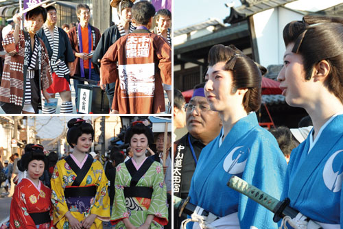 おん祭MINOKAMO2011秋の陣「太田宿中山道まつり」を開催