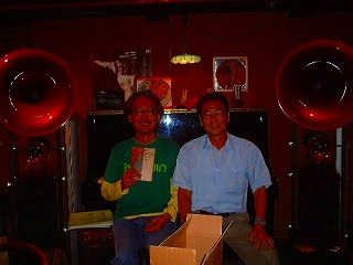 with Mr Terashima