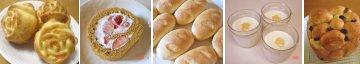 手作りパンとお菓子