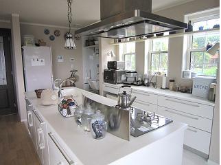2011年 新居のアイランド・キッチン