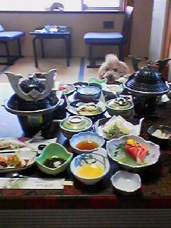 伊香保 宿 夕食