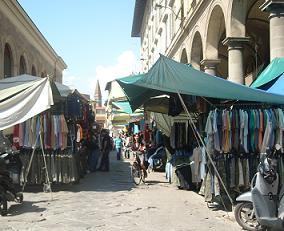 フィレンツェの露店