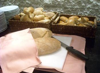 フィレンツェ、ホテルの朝食ビュッフェ