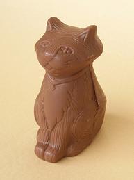 ナポリの猫チョコ
