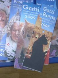 猫カレンダー、ブックマーク型