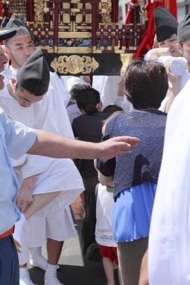 平成22年7月 八雲神社(神輿くぐり)