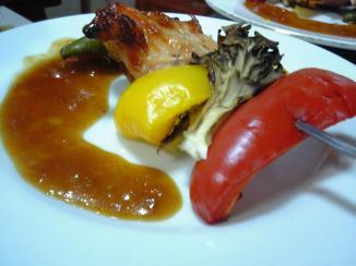 湯沢キュイジーヌ料理-鳥串焼き-