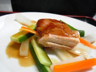 キュイジーヌ料理チキン