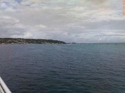 海から見た古宇利大橋1