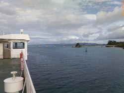 海から見た古宇利大橋2