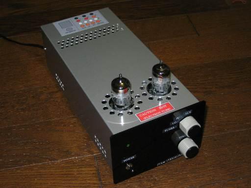 PCL86真空管アンプ外観