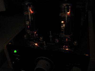 PCL86-ULヒータ点灯