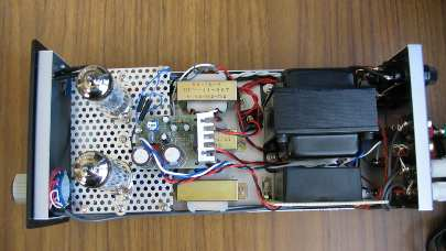 PCL86アンプの内部