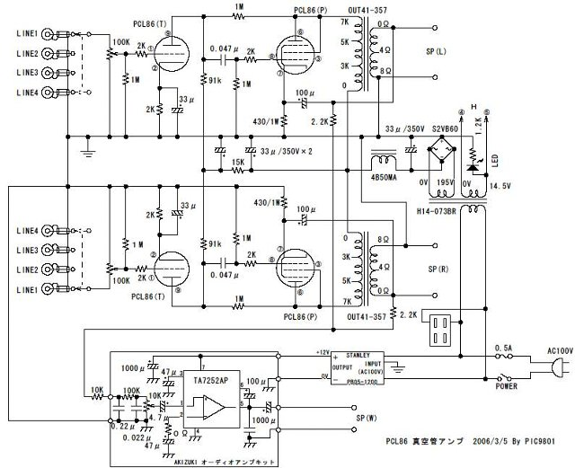 PCL86回路図