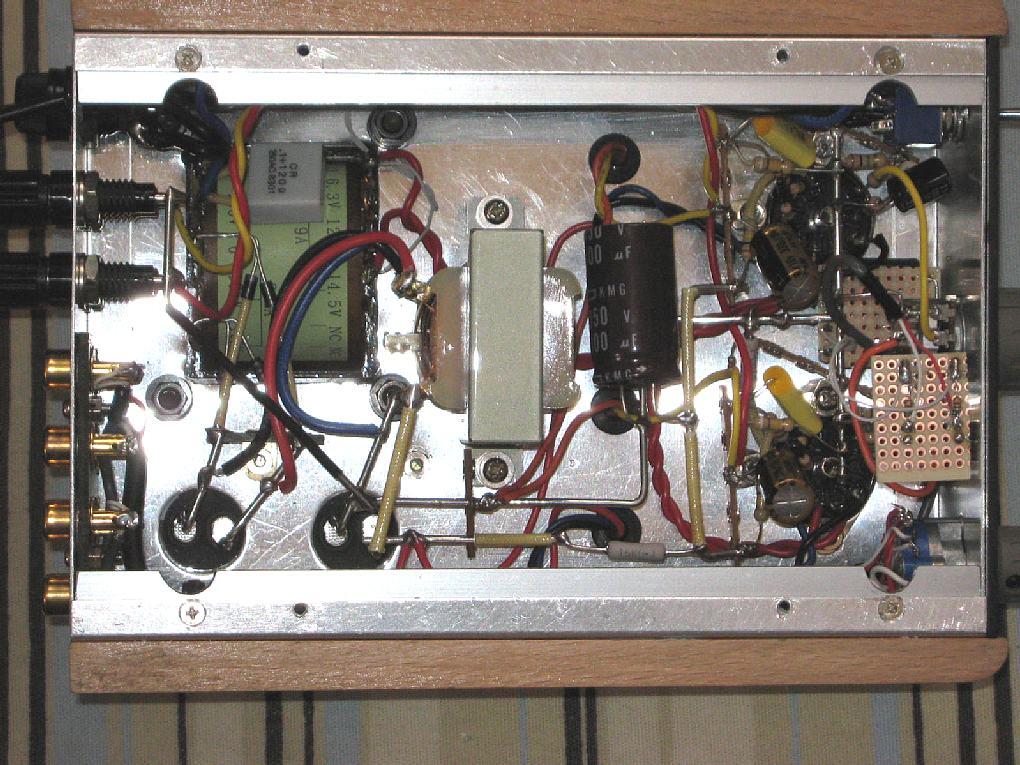 ミニアンプ(PCL86-UL)内部配線