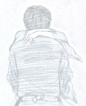「無限の住人」のワンシーンから。土方さんとミツバさんにものすごく重なっちゃったんで、描かずにいられなかったってのは内緒の方向で。