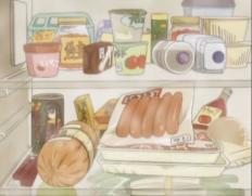 左にあるお茶の缶って何か元ネタがあるんですか?