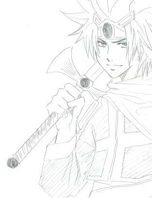 我ながら、剣がしょぼいのがものっそ気になります。マジでしょぼっ!( ̄□ ̄;)!!