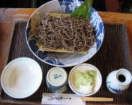 山形名物の生蕎麦