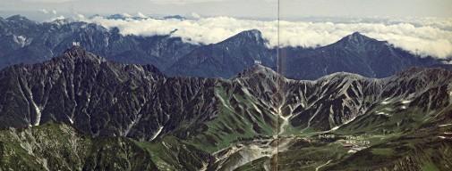 北アルプス立山連峰