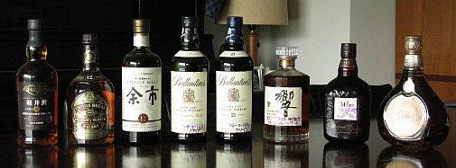 ウイスキーの仲間達