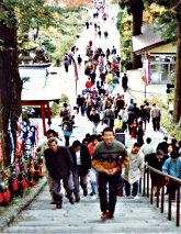 若かりし頃の大山寺参詣